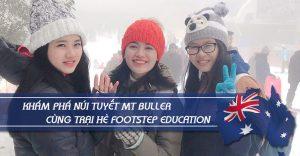 Khám phá núi tuyết Mt Buller cùng trại hè Footstep Education
